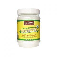 Nutiva Certified Organic Extra Virgin Coconut Oil — 54 fl oz