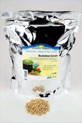 Hulled Buckwheat Groats- 2.5 Lbs – Organic Buck Wheat Groats- Sprouting Seed, Gardening, Planting, Edible Seeds, Emergency Food Storage, Hydroponics