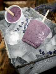 Blueberry Lavender Cultured Dixie Pops (raw, gluten-free, nut-free)