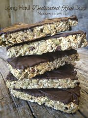 "Long Haul™ ""Dedicated Run"" Bars (raw, vegan, gluten-free)"