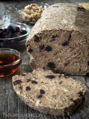 Rosemary Coastal Bread  (raw, vegan, gluten-free)