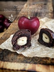 Hazelnut Cherry Relleno (raw, vegan, gluten-free)