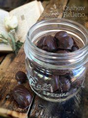 Cashew Cherry Relleno (raw, vegan, gluten-free)