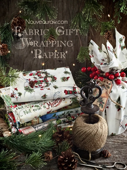 """Fabric-Gift--Wrapping--""""Paper""""NR1"""