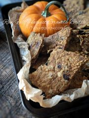 Fall Harvest Granola Brittle (raw, vegan, gluten-free)
