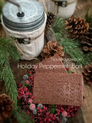 Holiday Peppermint Bark  (raw, vegan, gluten-free, nut-free)