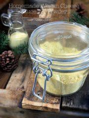 Homemade Vegan Cheese Sauce Powder (raw, vegan, gluten-free)
