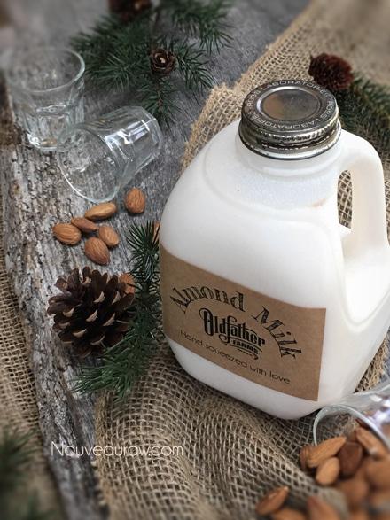Raw Gluten-Free Vegan Homemade Nut Milk Recipe