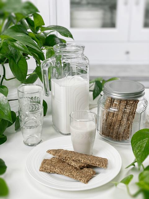 raw vegan gluten-free oil-free peanut butter and oat granola bars