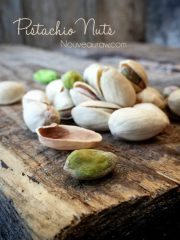 Pistachio Nuts, Soaking and Drying