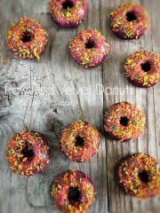 Red Velvet Donuts (raw, vegan, gluten-free)