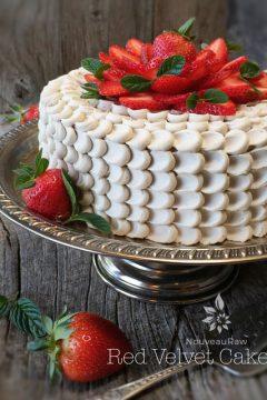 Gluten-free, Raw, Vegan Red Velvet Cake from Nouveau Raw