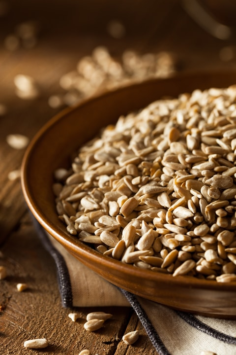 sunflower-seeds-in-a-wooden-bowl