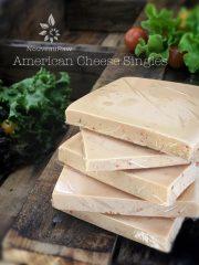 American Cheese Singles (raw, vegan, gluten-free)
