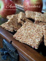 Apple Pie Crackers (raw, vegan, gluten-free, nut-free)