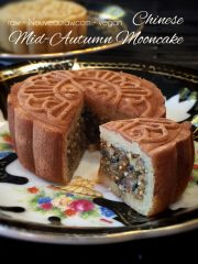 Chinese Mid-Autumn Mooncake (raw, vegan, gluten-free)
