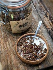 Pumpkin Spice Latte Muesli (raw, vegan, gluten-free)