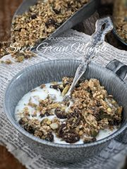 Sweet Grain Muesli  (raw, vegan, gluten-free, nut-free)