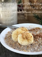 Warming Breakfast Muesli (raw, vegan, gluten-free)