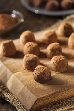 Raw Food Diet - vegan fudge truffles
