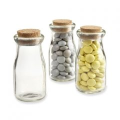 "Kate Aspen ""Vintage"" Milk Favor Jar, Set of 12"