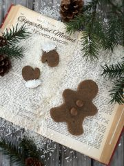 Hum Mud Gingerbread Men (raw, vegan, gluten-free)