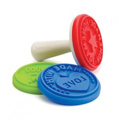 Tovolo Cookie Stamps, Set of 3