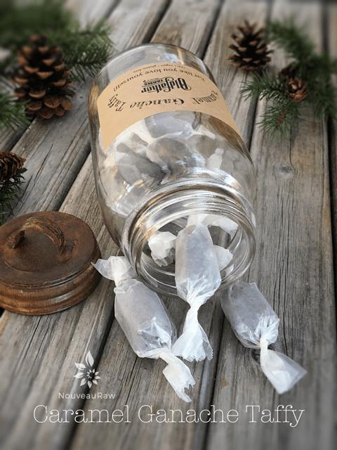 Raw, Vegan, Gluten free truffles - Recipe for Caramel Ganache Truffles