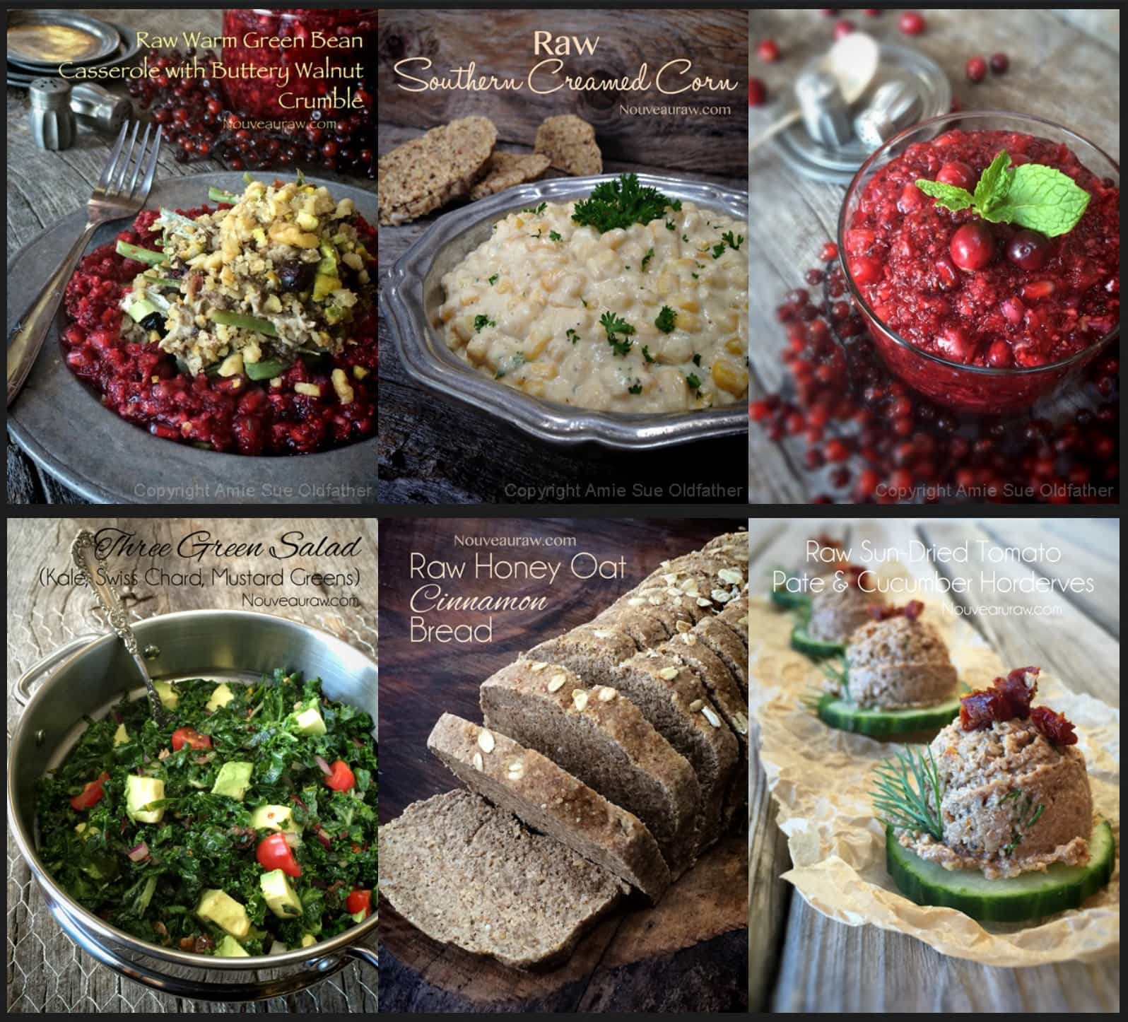 Raw Menu Ideas for the Holidays from Nouveau Raw