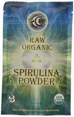 Raw Organic Spirulina Powder 4 oz Pkg