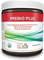 Cutting Edge Cultures Prebio Plus Prebiotic Fiber Powder BEST Custom Blend of Organic Prebiotic Fibers Dietary Supplement 8 oz
