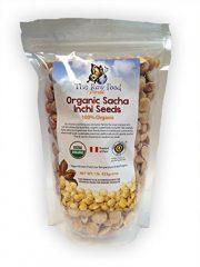 Organic UNsalted Sacha Inchi Seeds, 1lb