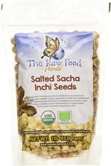 Organic SALTED Sacha Inchi Seeds, 1lb