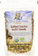 Organic SALTED Sacha Inchi Seeds, 1lb