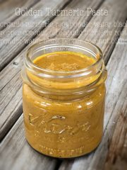 Golden Turmeric Paste (raw, vegan, gluten-free, nut-free)