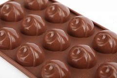 Home Value Silicone Mold for Chocolate, Jelly and Candy – 15-piece Per Mold (Set of 2), (CHOCMOLDC1184)