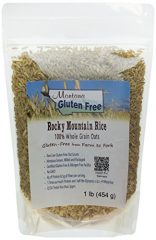 Montana Gluten Free Rocky Mountain Rice Sproutable Oat Groats, 1 Pound