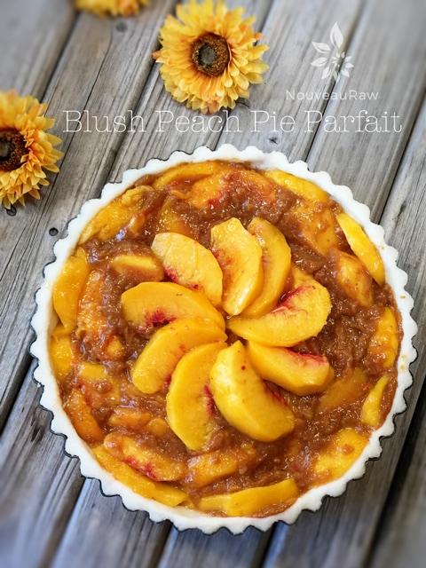 raw peach pie parfait Recipes