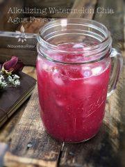 Alkalizing Watermelon Chia Agua Fresca (raw, vegan, gluten-free, nut-free)
