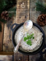 Classic Cream of Mushroom Soup (raw, vegan, gluten-free)