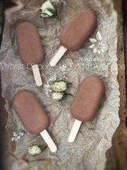 Velvet Chocolate Pudding Pops (raw, gluten-free)