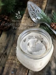 Pumpkin Spiced Ginger Frosting (raw, vegan, gluten-free)