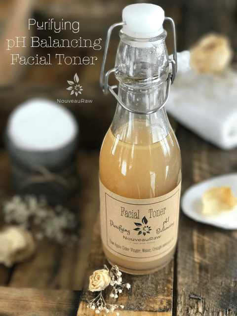 Facial toner that is part of My Personal Skin Care Regimen