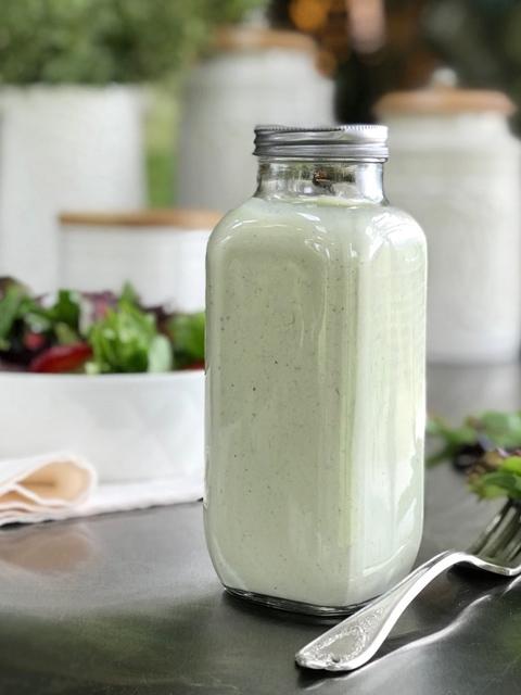 recipe for vegan gluten-free raw basil dressing