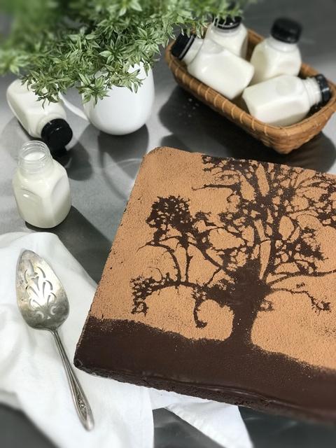 raw vegan gluten free chocolate brownie recipe. Cracked Black Pepper and Cayenne Brownies