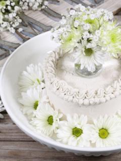raw, sugar free cake recipe - Sugar Free Coconut Chiffon Cake and Cupcakes feature