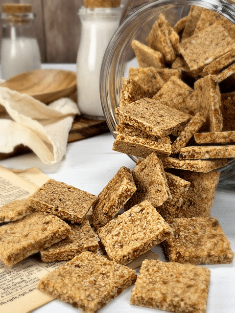 raw vegan gluten free crackers