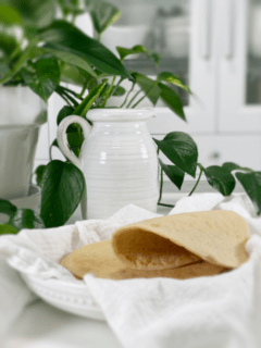 vegan oil-free gluten-free chickpea flour and oat wraps