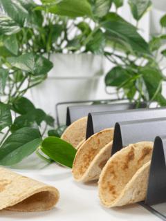 vegan gluten-free oil-free all ingredients root based sweet potato wraps
