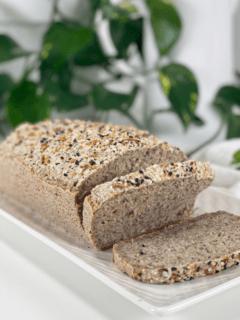 vegan gluten free oil free buckwheat and oat bread